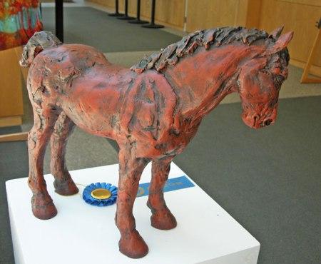 715henderson-Red-Pony,-1st-place-Fine-Craft,-by-Christine-Kosiba