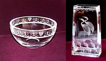 1216simmons-crystal-bowl-and-vase